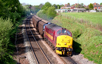 37422 'Cardiff Canton' at Water Orton on 26.4.07  with 6G36 0909 Bescot - Birch Coppice Enterprise  trip working